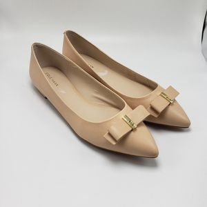 NWT Cole Haan Elsie Bow Flats